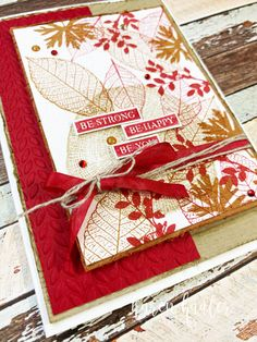 Add a New Post ‹ Stamping Bees — WordPress Fall Cards, Christmas Cards, Nature Poem, Leaf Cards, Stampinup, Cards For Friends, Card Tutorials, Cute Cards, Greeting Cards Handmade