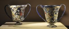 Glass drinking cups from the time of Augustus
