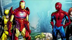 Marvel Heroes Omega - Carnage Chapter The Final Moves Nick Fury, Marvel Heroes, Finals, Omega, Iron Man, Superhero, Fictional Characters, Iron Men, Final Exams