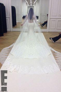 Kim Kardashian and Kanye West's wedding pictures are revealed #dailymail