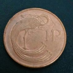 Cent Hen Penny 1968 BU IRELAND Large Penny Irish Large Cent,1 Coin Good Luck