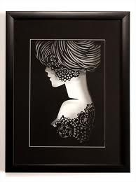 how to mount paper cut art - Google Search