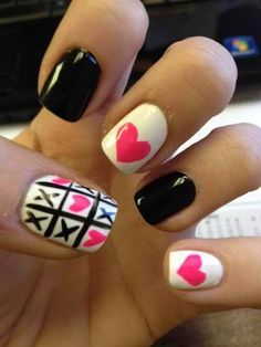 Tic tac toe with a heart