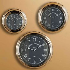 The timeless sophistication of analog timepieces...