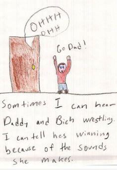 """Disturbing Pictures Drawn by Kids"""