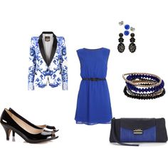 Graduation Wish by student4now on Polyvore -- in a perfect world, this would be my graduation outfit.
