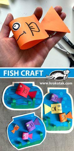 1st Grade Crafts, Kindergarten Crafts, Preschool Activities, Library Activities, Preschool Art, Children Activities, Hand Crafts For Kids, Art For Kids, Handmade Birthday Gifts
