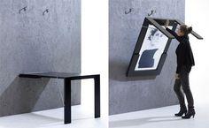 skrivebord, desk, indretning, kontor, spisebord, billedramme, plakat, interiør, interior, home decor, møbler, bord, malene møller hansen, Boligcious, design