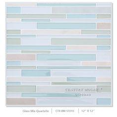 Colorful Glass Mosaic Strip Wall Backsplash Glass Tile, View colorful glass mosaic , CENTURY Product Details from Qingdao Century Import & Export Co., Ltd. on Alibaba.com