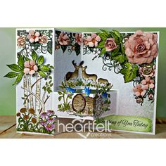 Gallery   Thinking Of You Woodsy Floral - Heartfelt Creations