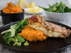 Fish And Seafood, Sweet Potato, Chicken, Dinner, Cooking, Sea Food, September, Drink, Recipes