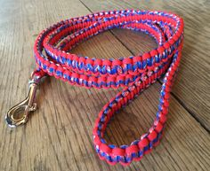 5ft Red/White/Blue Leash $25 + we send a FREE leash to a rescue/shelter of your choice in YOUR name!