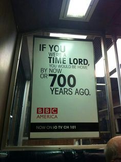 If you were a timelord