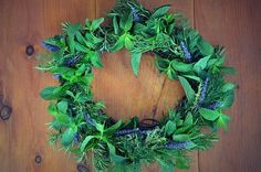 How to Make an Herbal Wreath - Keeper of the Home
