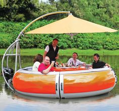 A Floaty With a BBQ?  only... $50,000.00!