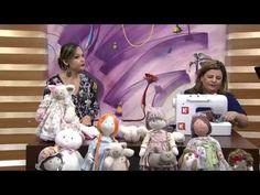 Mulher.com -  21/09/2015 - Ovelha porta fralda - Vivi Prado PT1