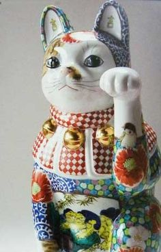 vintage maneki neko Japanese Bobtail, Japanese Cat, Japanese Culture, Maneki Neko, Neko Cat, Crazy Cat Lady, Crazy Cats, Cat Magazine, Cat Decor