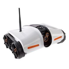 Rover App-Controlled Spy Tank with Night Vision - Drive Rover with your iPod touch (2nd, 3rd and 4th generation), iPhone device, smartphone or iPad tablet