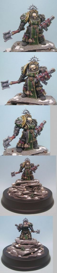 40k - Dark Angels Terminator Chaplain