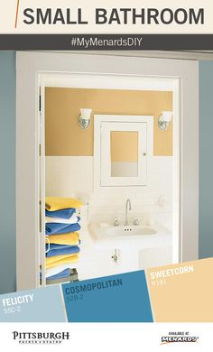 1000 Images About Small Bathroom Makeover Paint Color