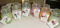 oy candles are great because they're all natural, they're made from 100% soybeans, making soy candles with essential oils would make you feel the benefit of aromatherapy also.