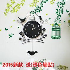 #taobaofocus #taobao #tmall #wall #clock #birds #home  #таобаофокус #таобао #настенные #часы #птички #дом