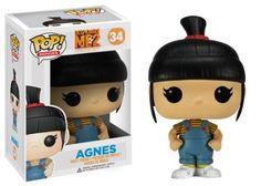 Amazon.com : Funko POP Movies Despicable Me: Agnes Vinyl Figure : Action Figures : Toys & Games