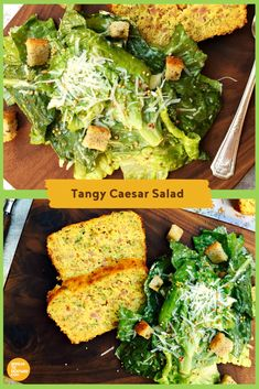 Caesar salad, enjoyed since the gets a flavour boost with the addition of Dijon mustard. Rub Recipes, Great Recipes, Salad Recipes, Potluck Recipes, Appetizer Recipes, Mustard Recipe, Large Salad Bowl, Caesar Salad, Salad Ingredients