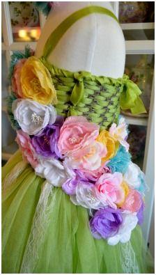 Homemade Fairy Tutu Dress tutorial