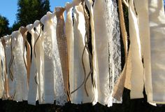 Burlap Wedding Banner-Rustic-Wedding Banner-Wedding by SewSoapy