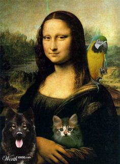 Mona Lisa✖️Fosterginger.Pinterest.Com.✖️More Pins Like This One At FOSTERGINGER @ Pinterest ✖️No Pin Limits✖️