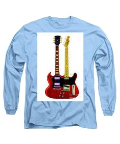 Long Sleeve T-Shirt - Guitar Duo