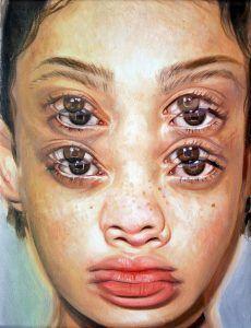 "Alex Garant | ""Micro Nap (Study 2)"" (2018) Alex Garant, Distortion Art, Advanced Higher Art, Art Alevel, Gcse Art Sketchbook, Urban Painting, Different Kinds Of Art, A Level Art, Arts Ed"