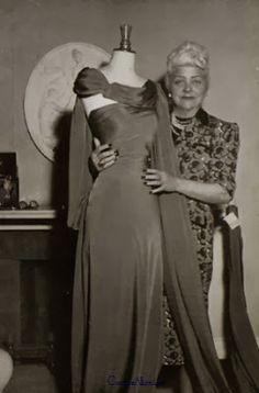 Nina Ricci, 1950 Couture Allure Vintage Fashion