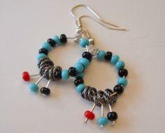 Great pair of handmade earrings #handmade #earrings