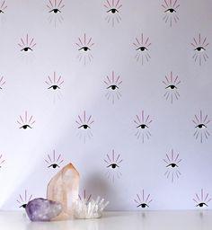 Katie Deedy's new wallpaper from Grow House Grow (at Design*Sponge)