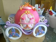 carruaje, adorno para torta