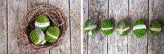 Wielkanocne dekoracje naturalne Green Canoe