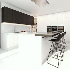 GUNNI&TRENTINO 🤝 Villa DOCHILLS Sotogrande Hemos colaborado con este proyectazo. ↗Desliza para ver todas las fotos ↗ ✔La cocina es un diseño de GUNNI&TRENTINO en laca mate blanca y mueble alto en roble noche. Con encimera de silestone imitación Calaccata. ¿Qué te parece? queremos saber tu opinión⬇ . . . . .  #interiordecor #decoration #arquitectura #diseño #interiorismo #luxury #lights #kitchendesign #design #GUNNITRENTINO #interiordesign #marbella #marbelladesign #blanco #
