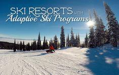 Ski Resorts with Adaptive Skiing Programs #specialneeds