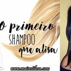 Shampoo que alisa o cabelo caseiro e sem química.Também vai deixar seu cabelo com menos volume e muito brilho! Clique para aprender!
