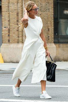 Aún me resisto a lucir culottes, pero las fashionistas los llevan a todas horas