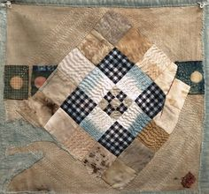 Pulled across moons from Spirit Cloth...love the rustic feel and sophisticated colour work.