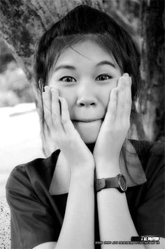 MyAnn (black and white photography by teomontana - Thailand)