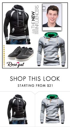 """The new"" by miranda-993 on Polyvore featuring men's fashion, menswear and rosegal"