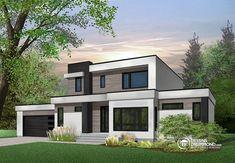 Détail du plan de Maison unifamiliale W3883