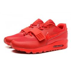 5e305d58e7e All Vermelho Nike Air Max 90 Yeezy 2 design by Blkvis novo