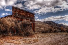 Bannack, Montana Lewis And Clark Trail, Big Sky Country, Hdr Photography, Western Art, Ghost Towns, Historical Sites, Montana, Monument Valley, Photo Art