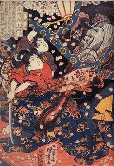 ukiyoe Shunga Makurae Erotic Art hirosige hokusai utamaro kuniyosi yositosi musha-e japan warriors Japanese Prints, Japanese Art, Japanese Folklore, Meiji Restoration, Great Wave Off Kanagawa, Kuniyoshi, Late 20th Century, Woodblock Print, Artist