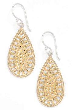 Anna Beck 'Open Metal' Teardrop Earrings